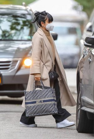 Lily Allen - Carrying a Dior bag with