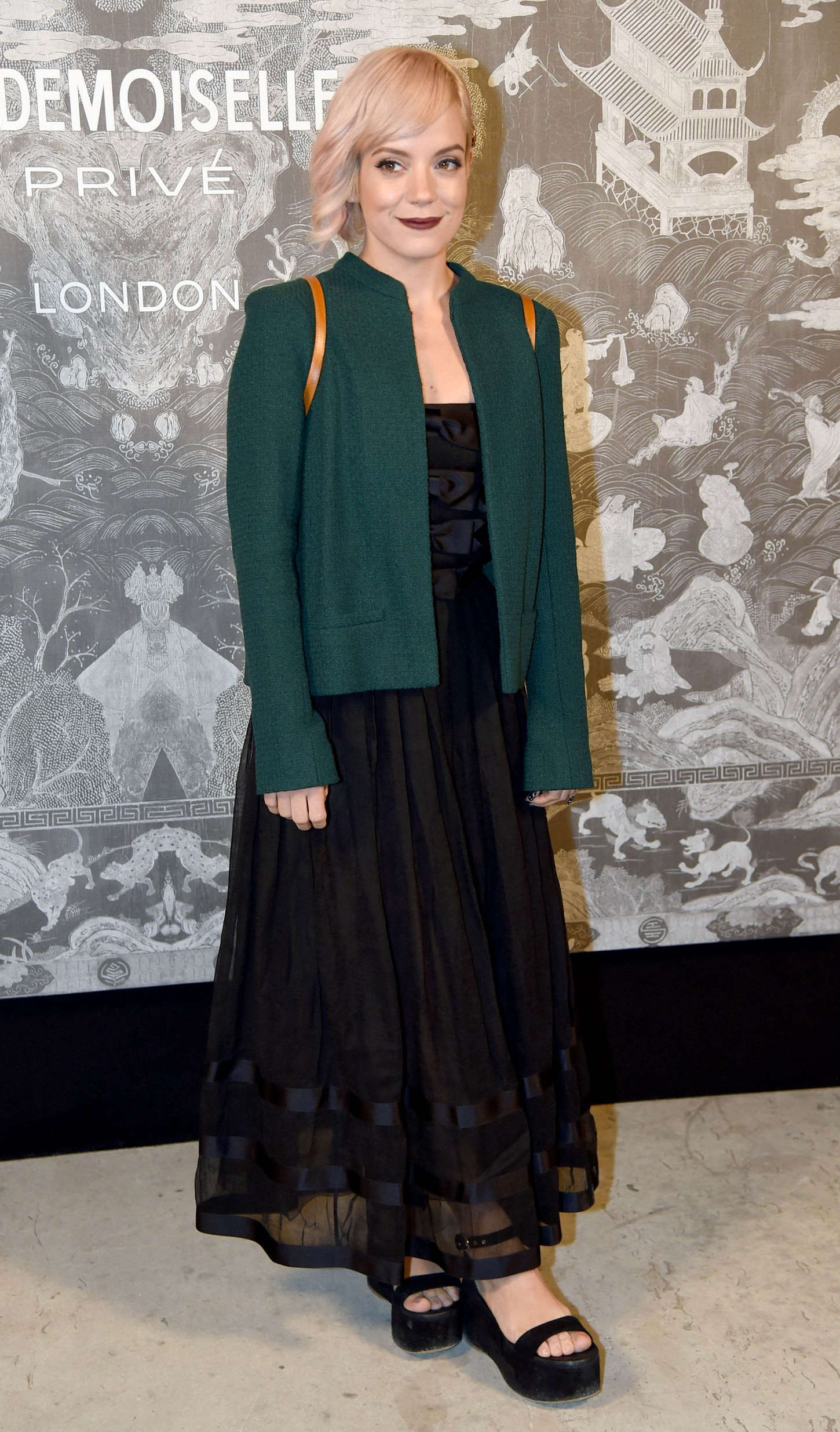Lily Allen 2015 : Lily Allen: Chanel Exhibition Party -06