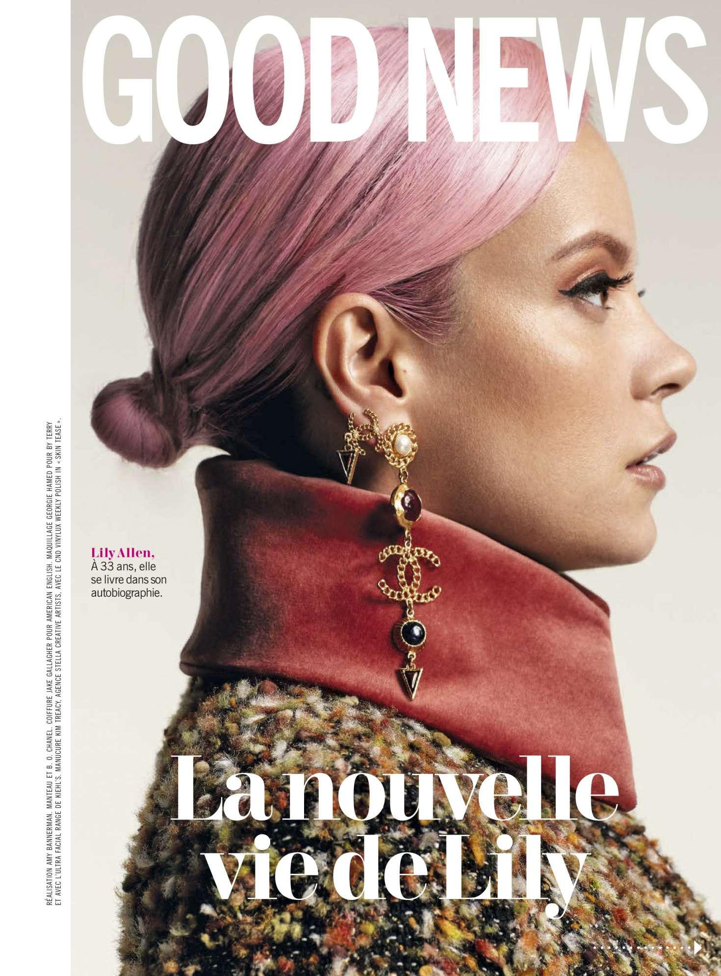 Lily Allen 2019 : Lily Allen: Cosmopolitan France 2019 -01