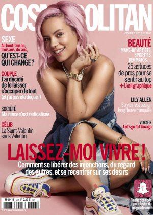 Lily Allen - Cosmopolitan France Magazine (March 2019)