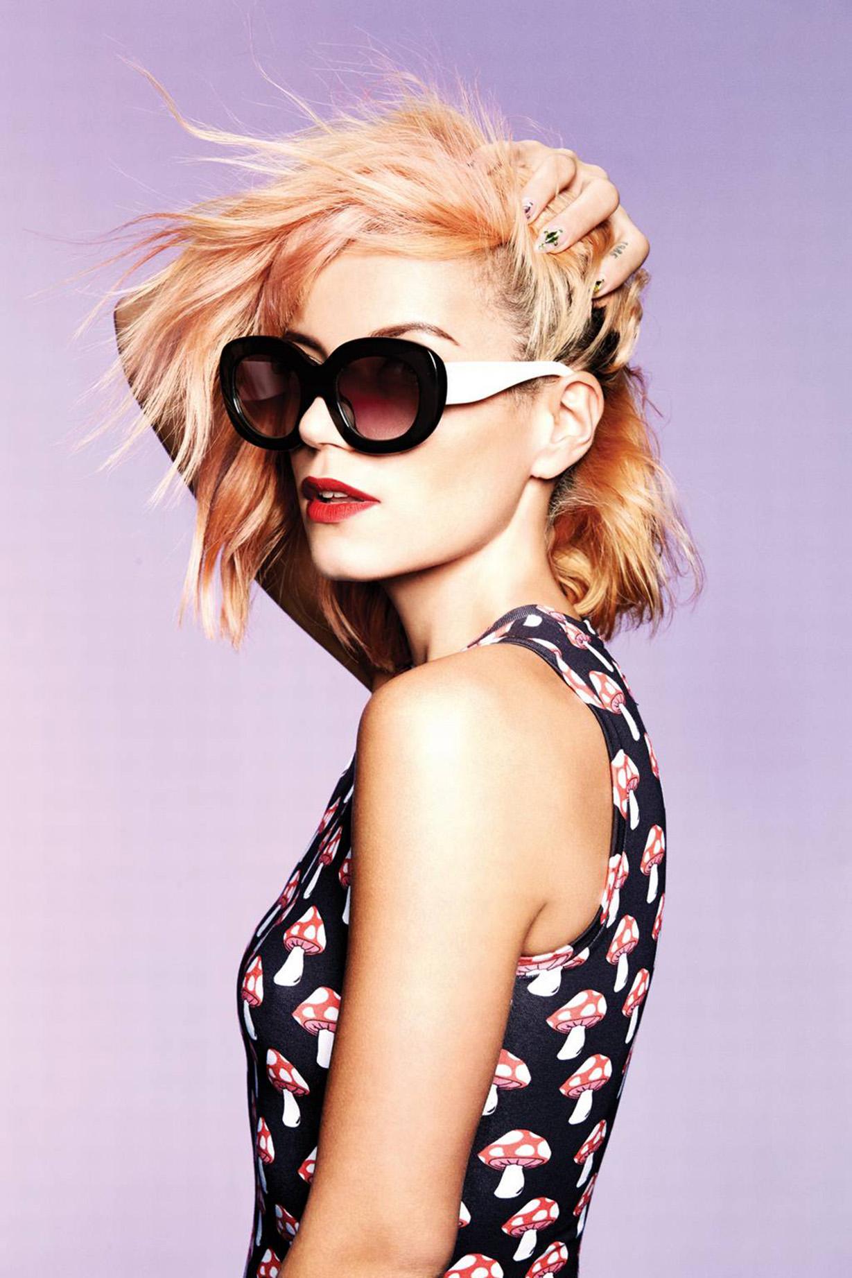 Lily Allen - Henry Holland Eyewear Range (March 2015)