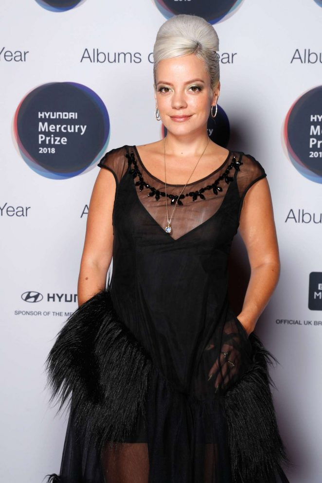 Lily Allen – Mercury Prize Albums of the Year in London