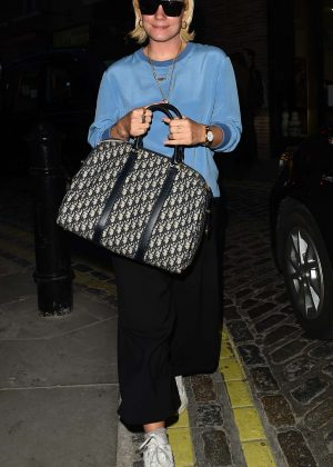 Lily Allen Night - Seen Out In London