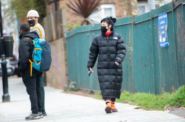 Lily Allen - Out and about in London