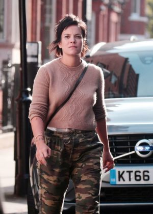 Lily Allen with Sam Cooper - Out in Chelsea