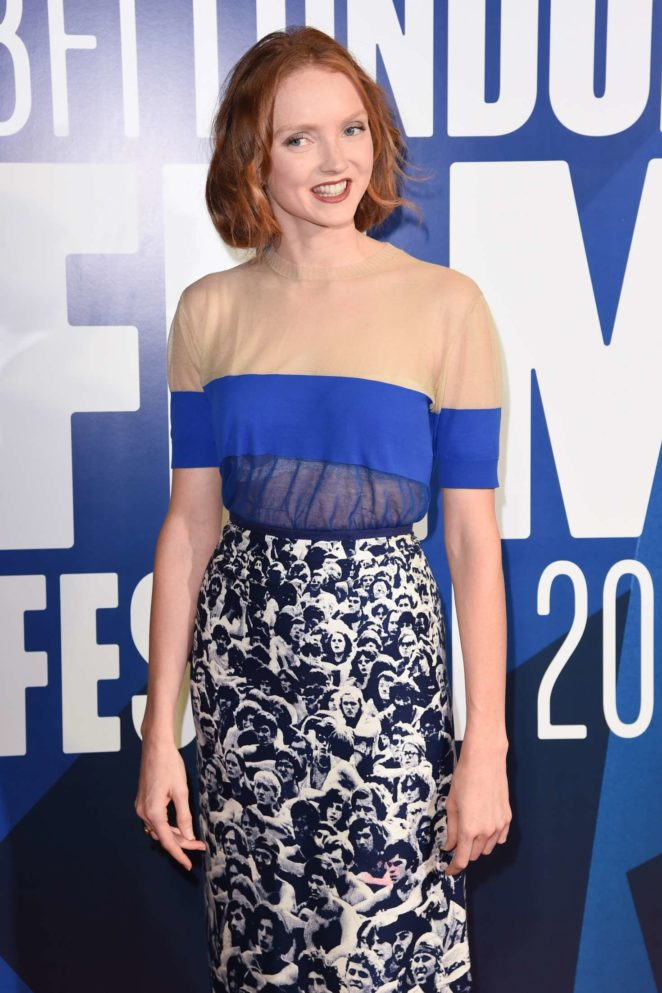 Lily Cole - 61st BFI London Film Festival Awards in London