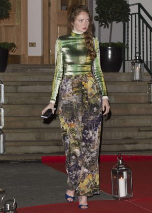 Lily Cole at Hope and Homes For Children: End The Silence Gala Dinner in London