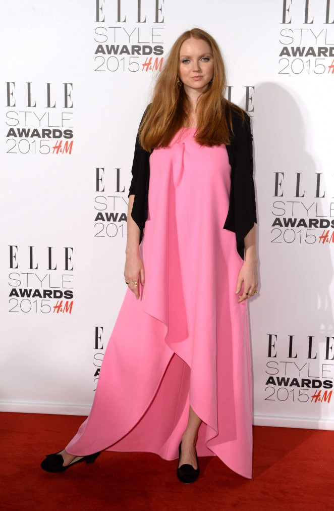 Lily Cole – Elle Style Awards 2015 in London