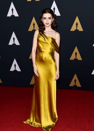Lily Collins - 2016 Governors Awards in Hollywood