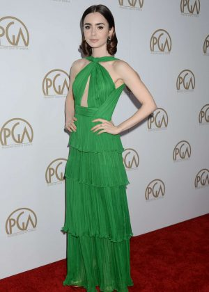 Lily Collins - 2017 Annual Producers Guild Awards in Los Angeles
