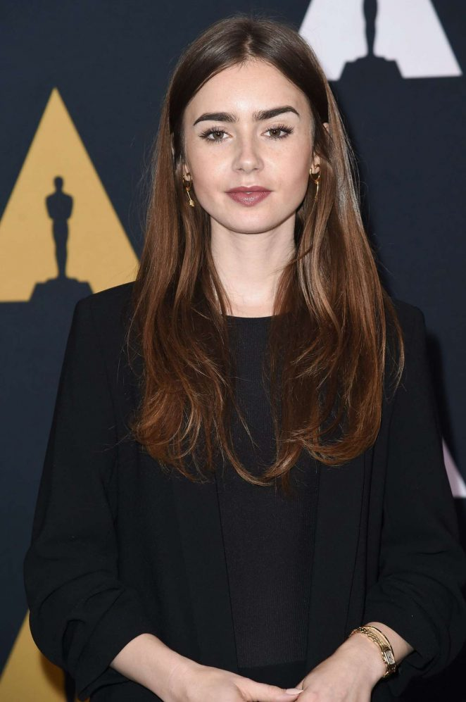 Lily Collins - 2018 Academy Nicholl Fellowships in Screenwriting Awards in LA