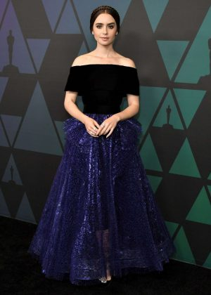 Lily Collins - 2018 Governors Awards in Hollywood