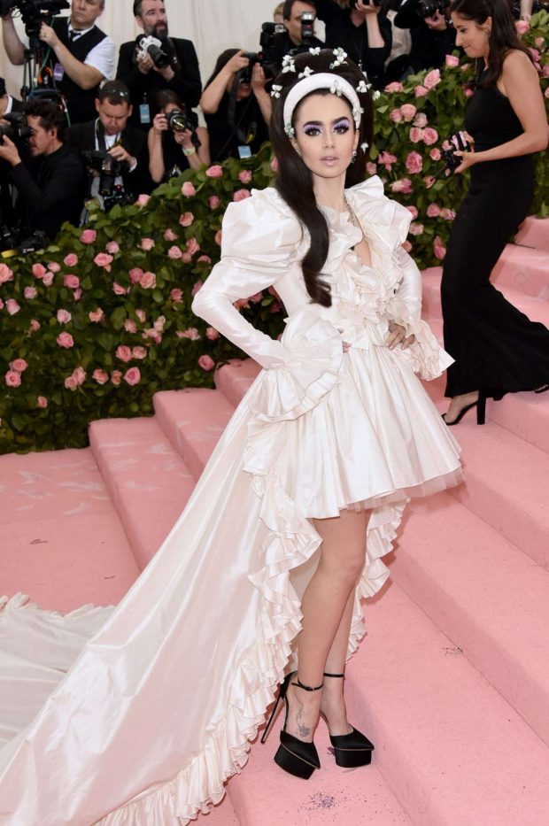 Lily Collins - 2019 Met Gala in NYC
