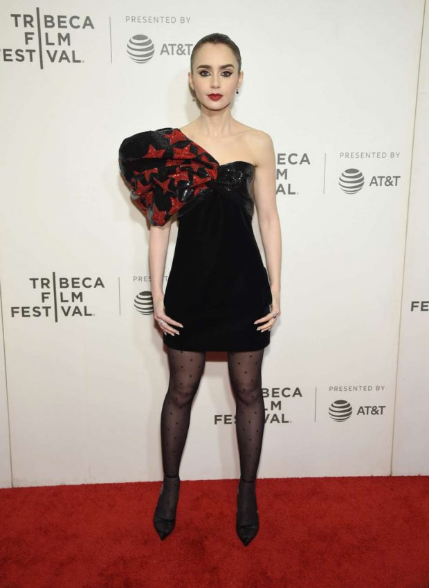 Lily Collins - 2019 Tribeca Film Festival - Extremely Wicked Shockingly Evil And Vile