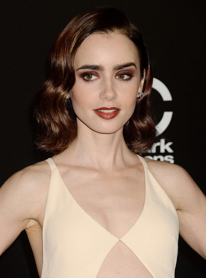 Lily Collins - 20th Annual Hollywood Film Awards in Los Angeles