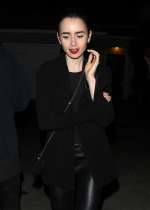 Lily Collins at Jennifer Klein's Day of Indulgence Private Party in LA