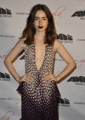 Lily Collins Attends the Premiere 'To The Bone' at Ischia Global Festival in Italy