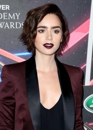 Lily Collins - BAFTA Los Angeles Britannia Awards in LA