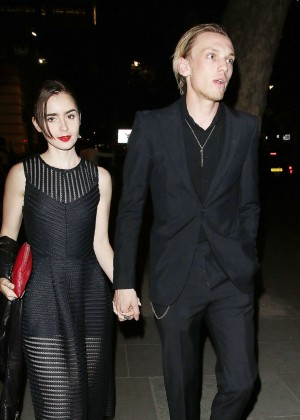 Lily Collins - 'Bend It Like Beckham' After Party in London