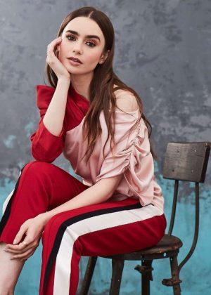Lily Collins by Maarten de Boer Photoshoot (February 2019)