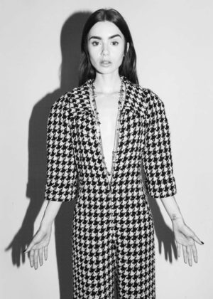 Lily Collins - Chanel 2017 Photoshoot