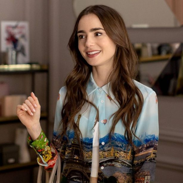 Lily Collins - Emily In Paris Promoshoot 2020