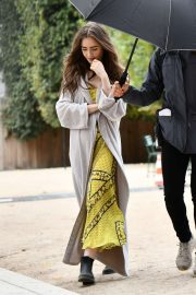 Lily Collins - 'Emily in Paris' set in Paris