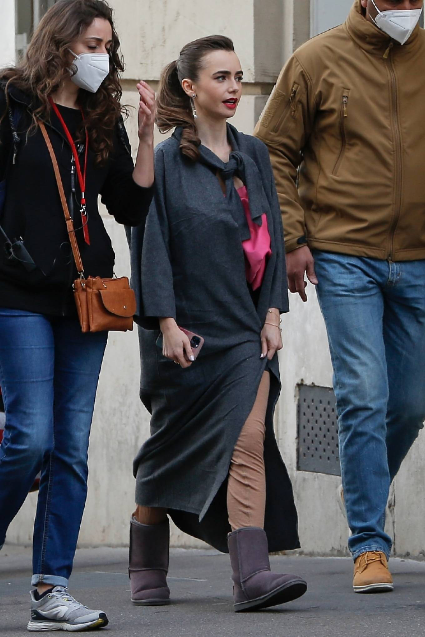Lily Collins 2019 : Lily Collins – Emily in Paris set in Paris-03