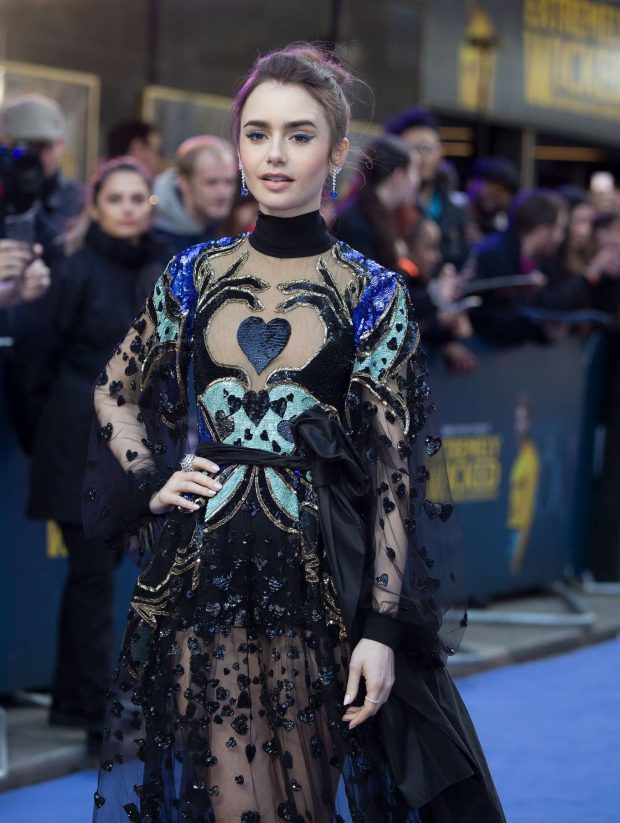 Lily Collins - 'Extremely Wicked, Shockingly Evil and Vile' Premiere in London