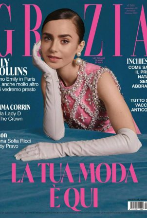 Lily Collins - Grazia Magazine (Italy - December 2020)