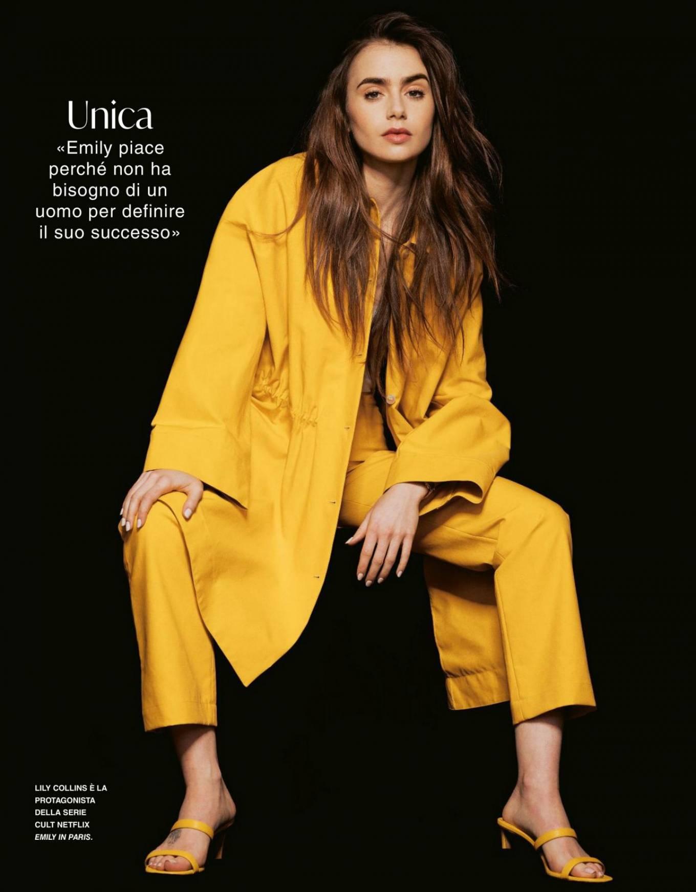 Lily Collins - Grazia Magazine Italy (October 2020)