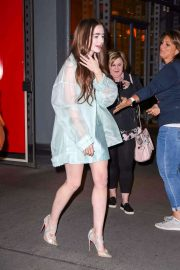 Lily Collins - Heads to the 'Les Miserables' Premiere in New York