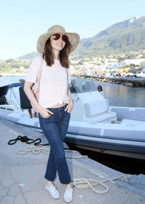 Lily Collins - Ischia Global Film and Music Fest 2017