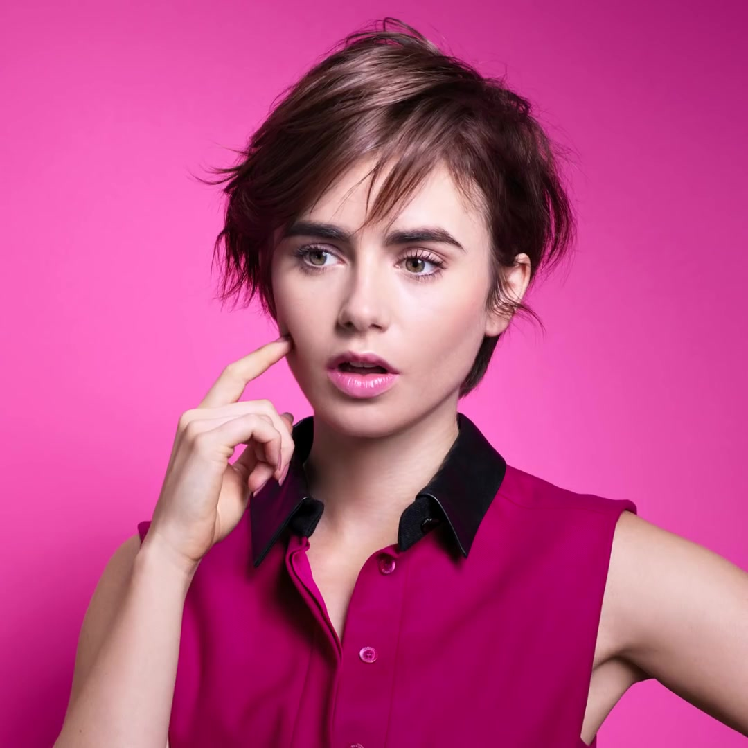 Lily Collins: Lancome ...