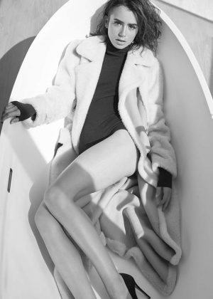 Lily Collins - Malibu Magazine (December 2016)