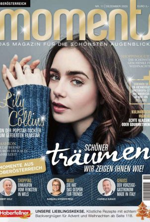 Lily Collins - Moments Magazine Upper Austria - December 2020