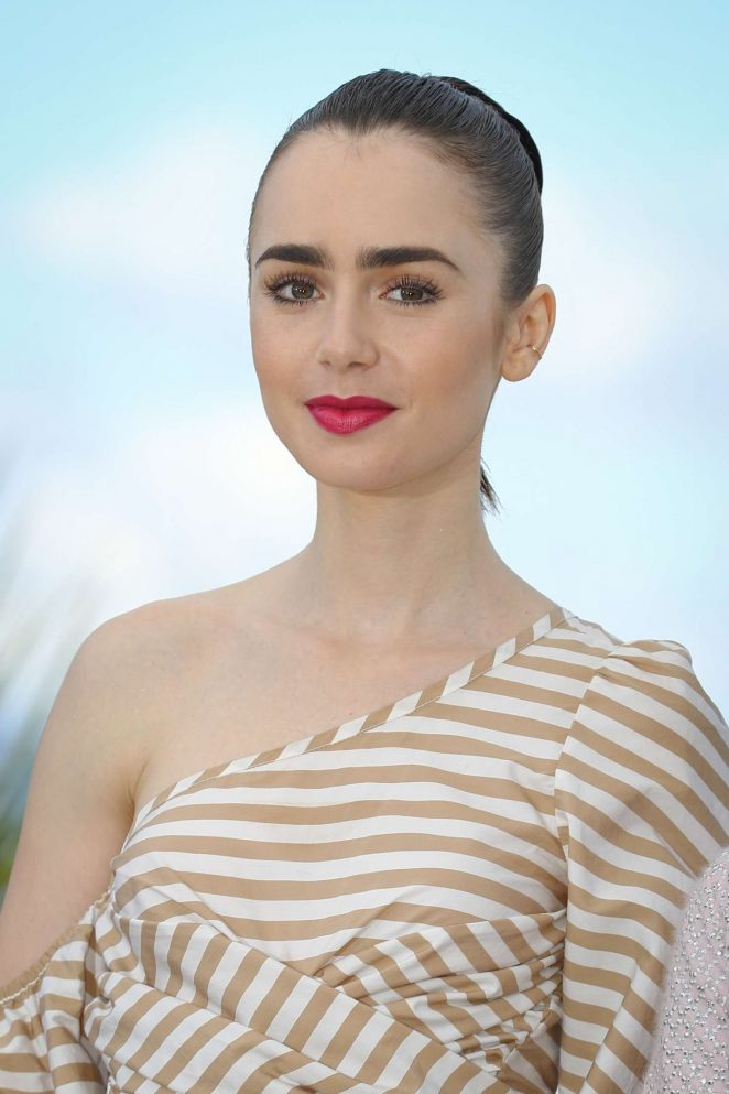 Lily Collins – 'Okja' Photocall at 70th Cannes Film Festival in Cannes