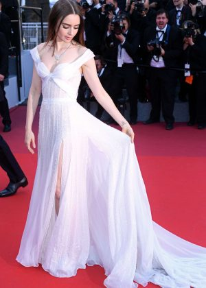 Lily Collins - 'Okja' Premiere at 70th annual Cannes Film Festival