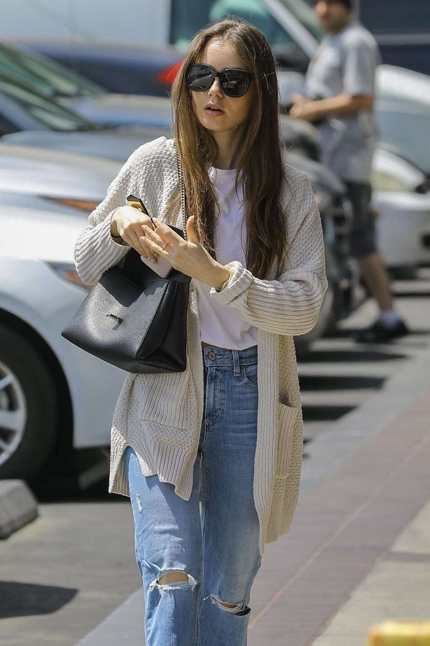 Lily Collins 2019 : Lily Collins: Out in Hollywood -03