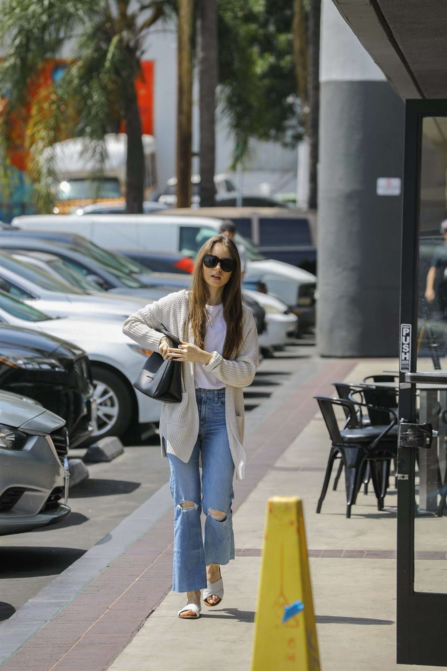 Lily Collins 2019 : Lily Collins: Out in Hollywood -04