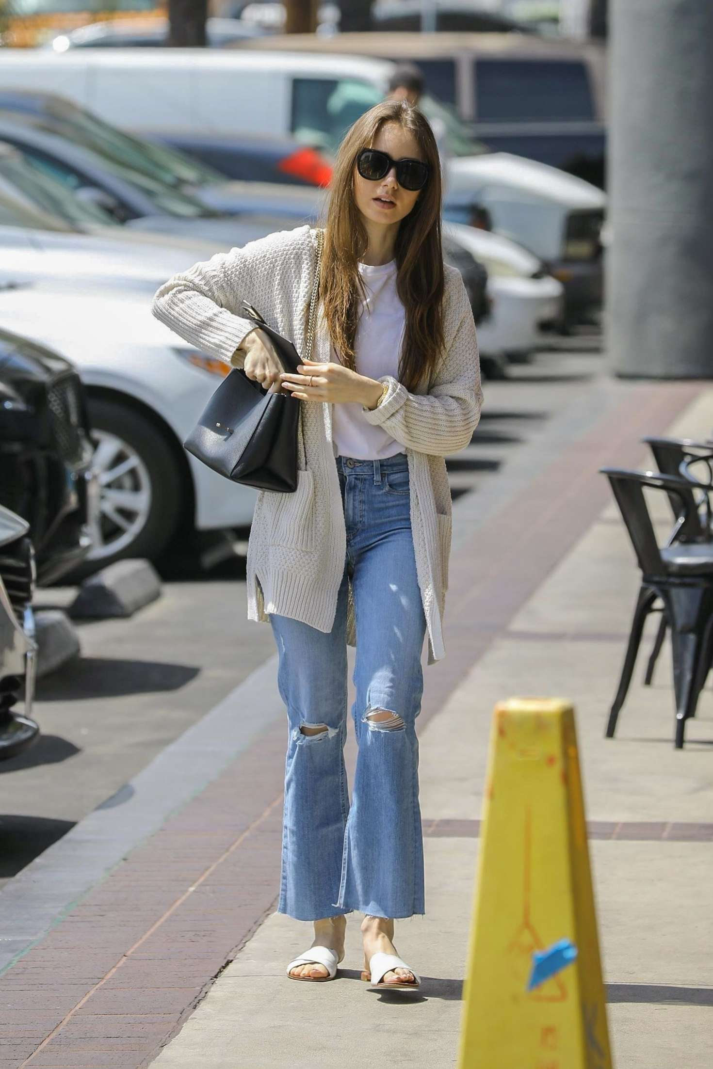 Lily Collins 2019 : Lily Collins: Out in Hollywood -05