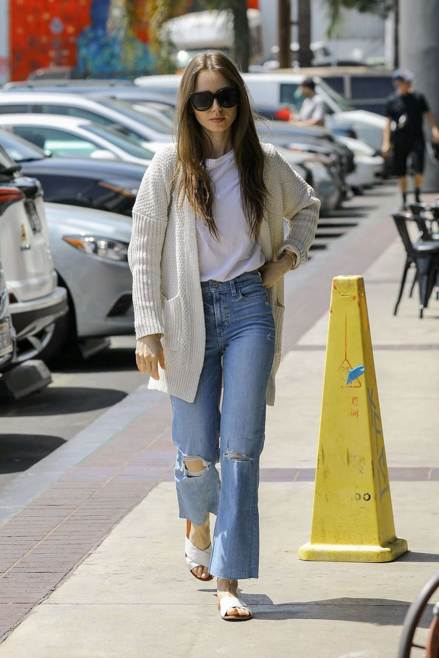 Lily Collins 2019 : Lily Collins: Out in Hollywood -07