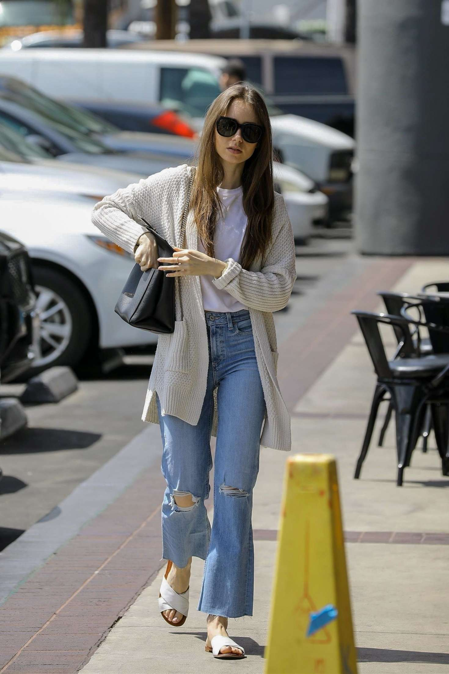 Lily Collins 2019 : Lily Collins: Out in Hollywood -08
