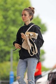 Lily Collins - Out in West Hollywood