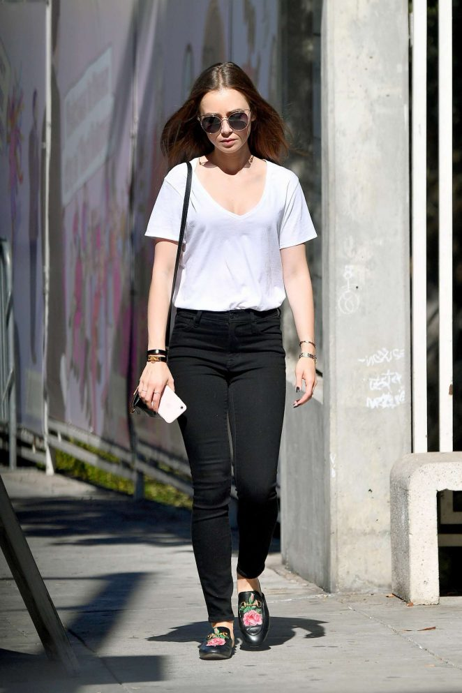 Lily Collins - Out on a lunch in West Hollywood