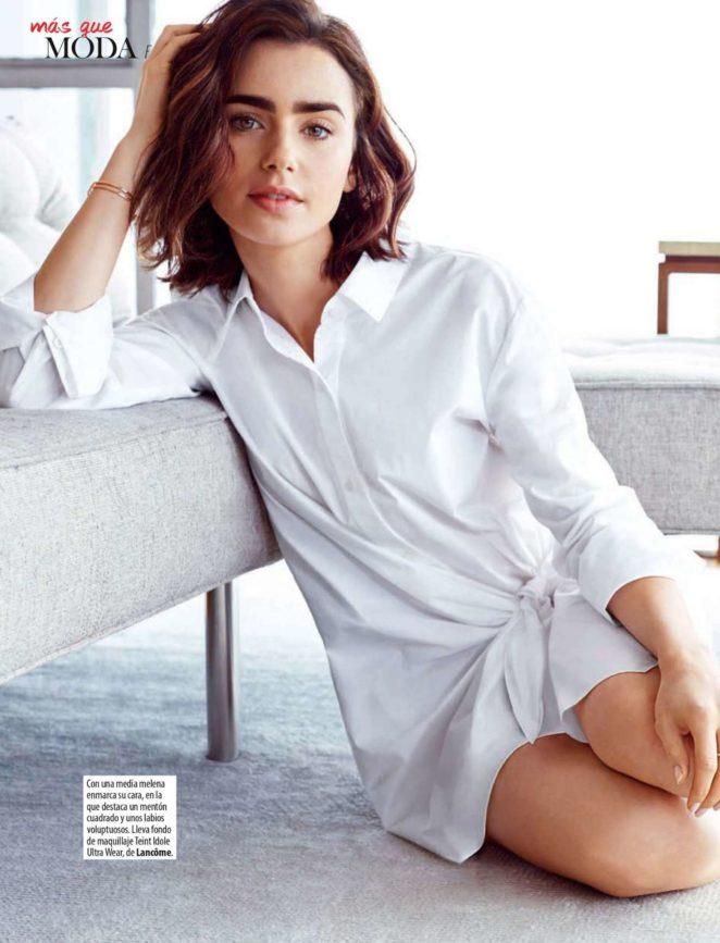 Lily Collins - Stilo Spain Magazine (December 2017)
