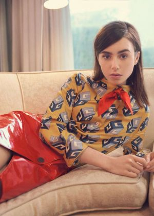 Lily Collins - The Edit Magazine (June 2017)
