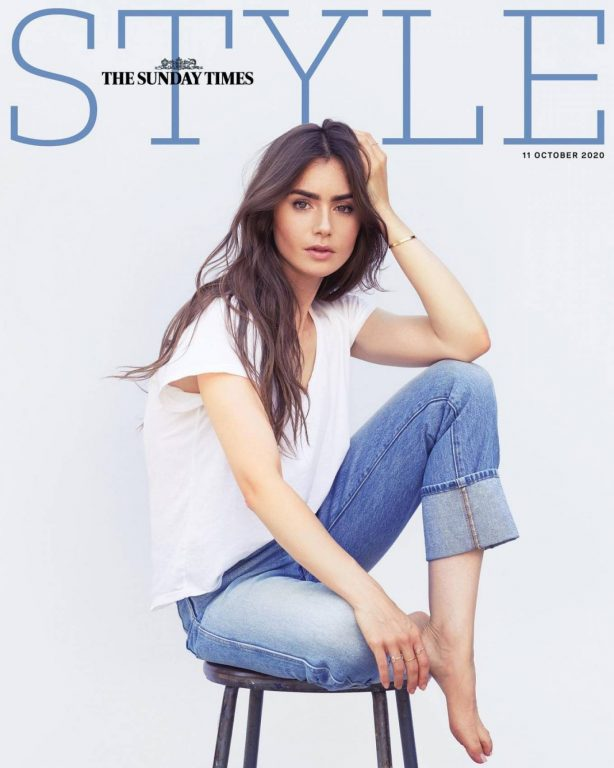 Lily Collins - The Sunday Times Style