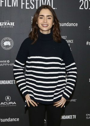 Lily Collins - 'To the Bone' Premiere at 2017 Sundance Film Festival in Utah