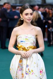 Lily Collins - 'Tolkien' Premiere in London